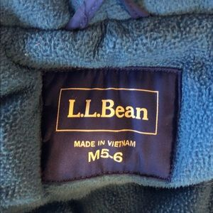 L.L. Bean Jackets & Coats - L.L. BEAN Boys Winter Coat Size 5/6